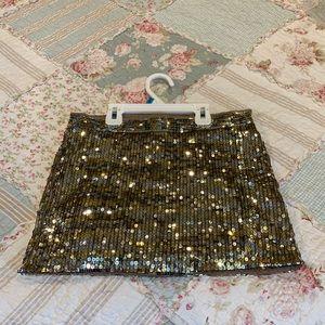 Abercrombie Sequined Skirt